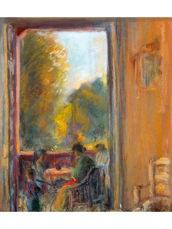 <p>La terrasse aux Jumelles</p>