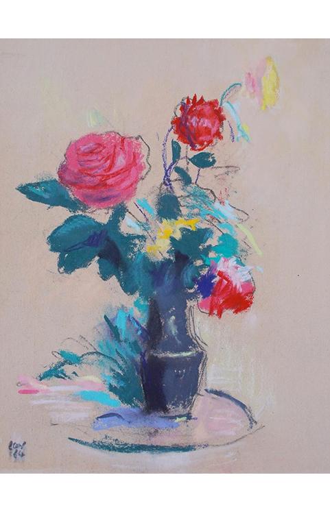 <p>Les roses rouges</p>
