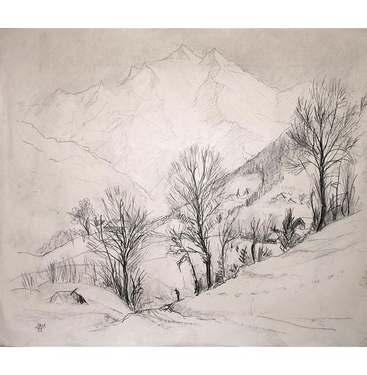 <p>Le Mont Blanc</p>