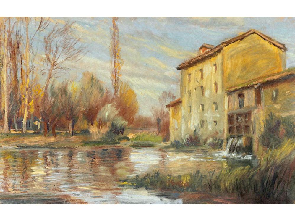 <p>Le moulin en automne</p>