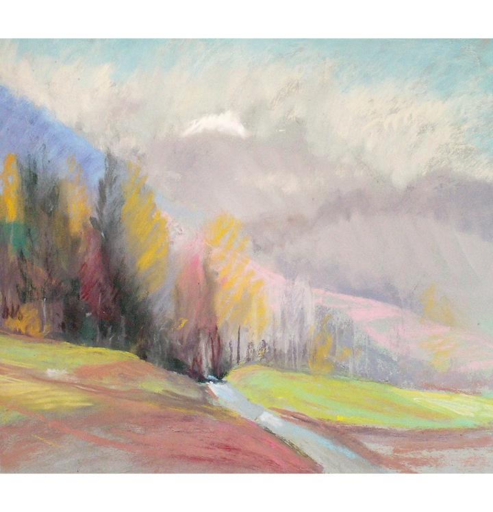 <p>L'automne à la montagne</p>