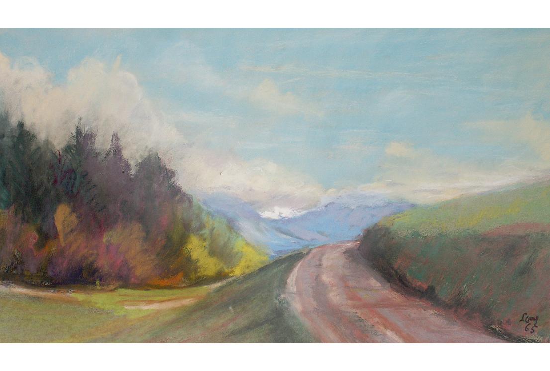 <p>Route de montagne</p>