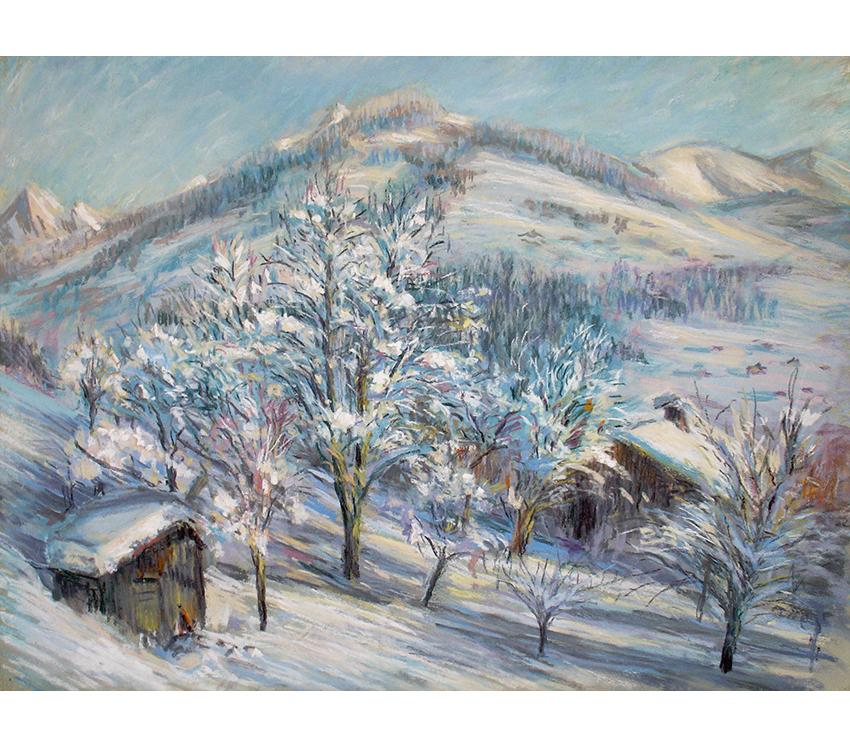 <p></p> <p>Arbres sous la neige</p>