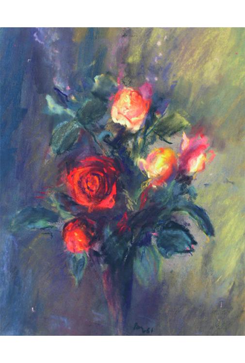 <p>Les roses</p>