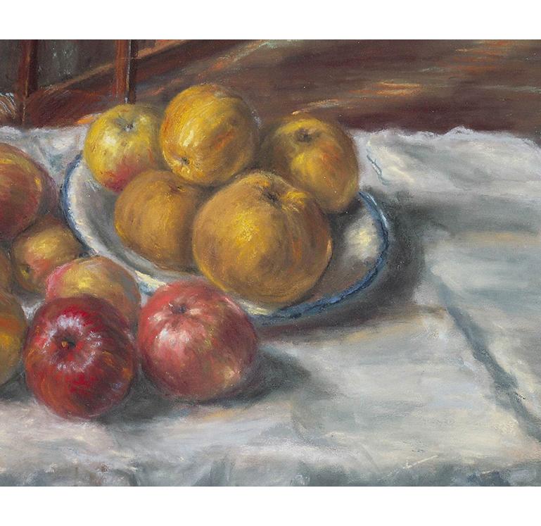 <p>Les pommes</p>