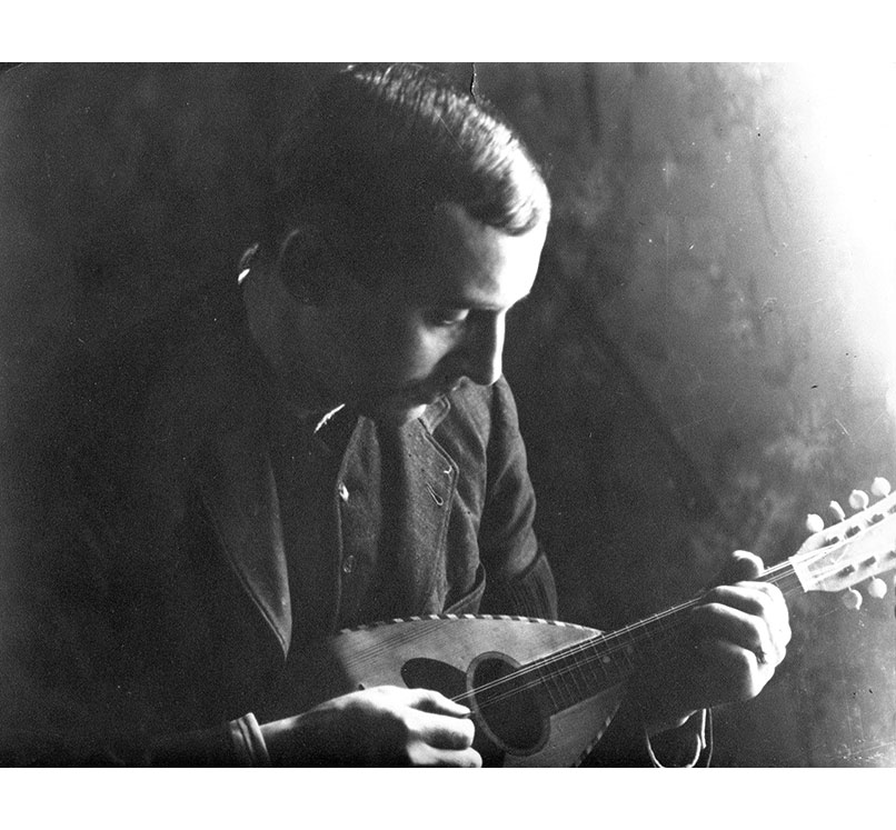 <p>Cyprien et la mandoline</p>